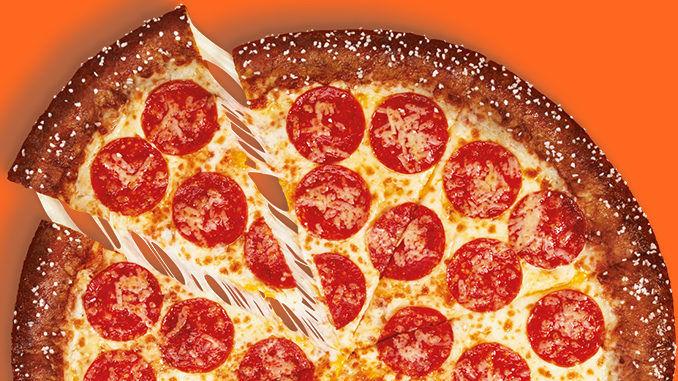 Cheesy Pretzel Crust Pizzas
