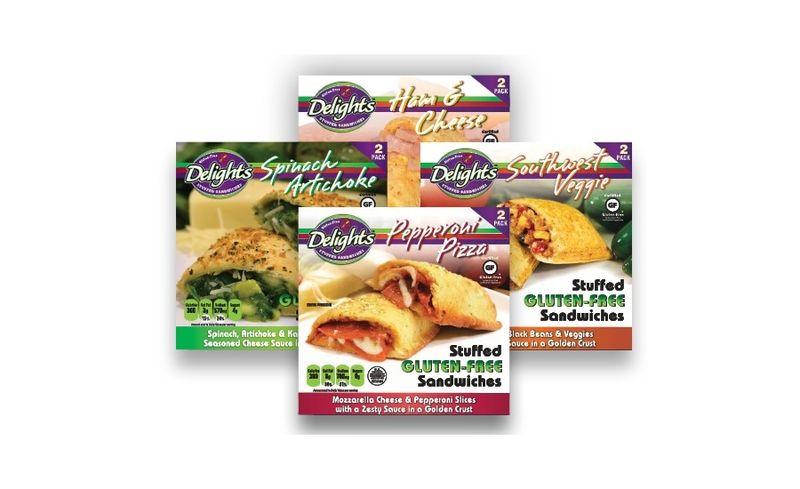 Frozen Gluten-Free Sandwiches