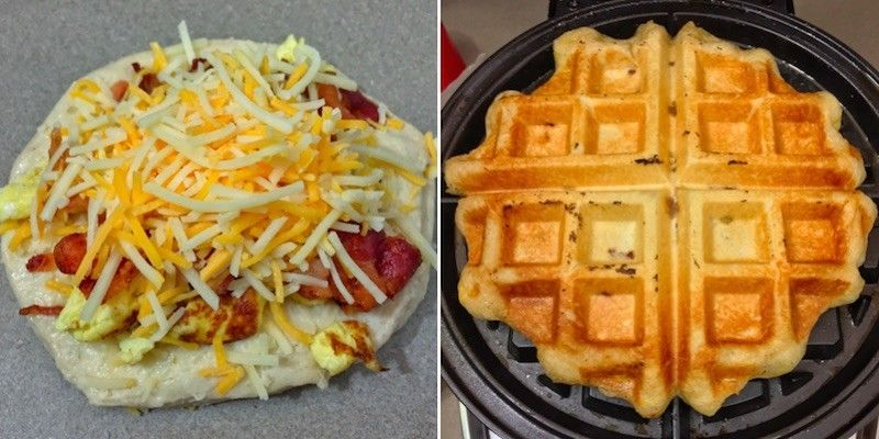 All-Inclusive Breakfast Waffles