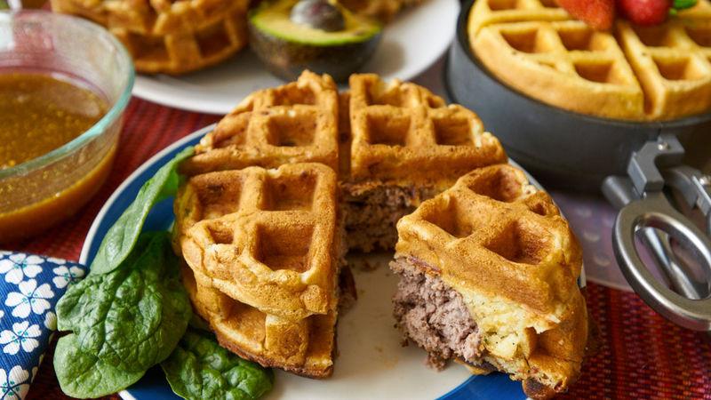 Stuffed Waffle Sandwich Makers