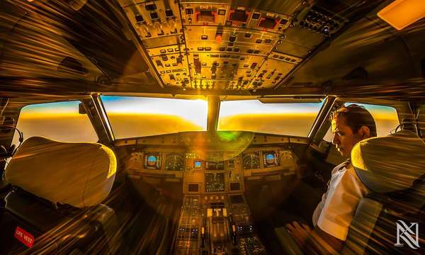 Artistic Cockpit Photography
