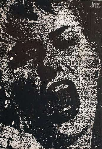 Black & White Stencil Portraits