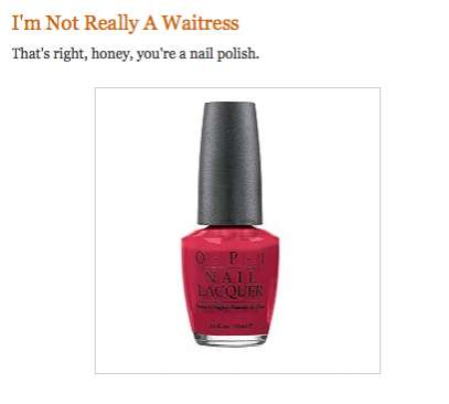 Cheeky Cosmetics Sites : Stupid Nail Polish Names Blog