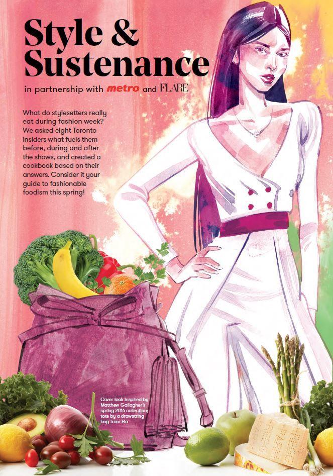 Glossy Fashion Week Cookbooks