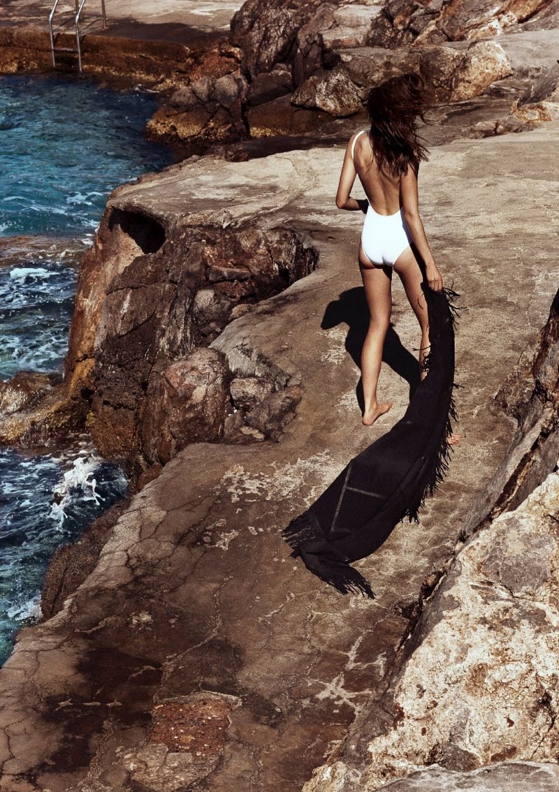 Grecian Beachwear Editorials