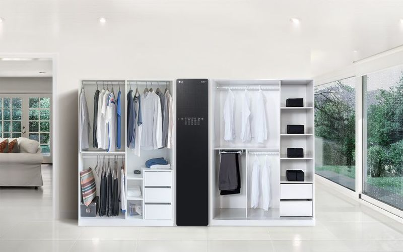 Wardrobe-Sanitizing Closets