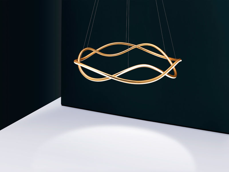 Curvy Stylish Chandelier Designs