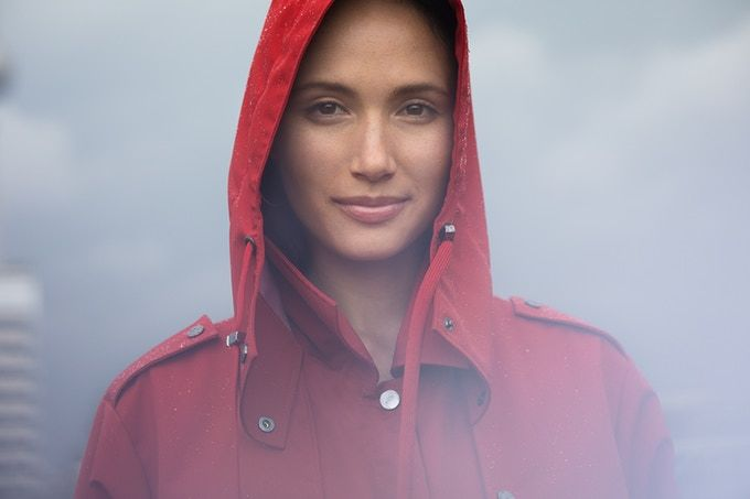 Fashionable Performance Raincoats