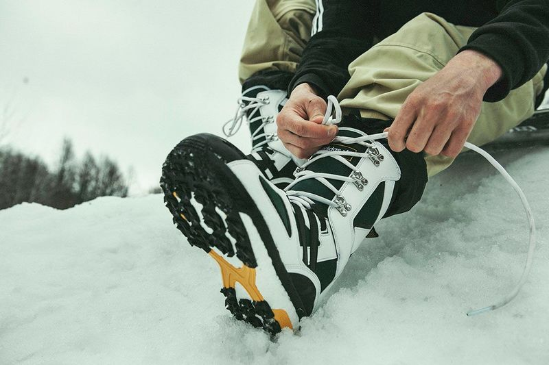 Running Shoe-Inspired Snowboarding Boots
