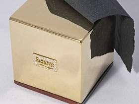 Gold Toilet Paper Box
