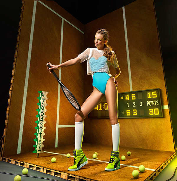 Stylized Sport Photography