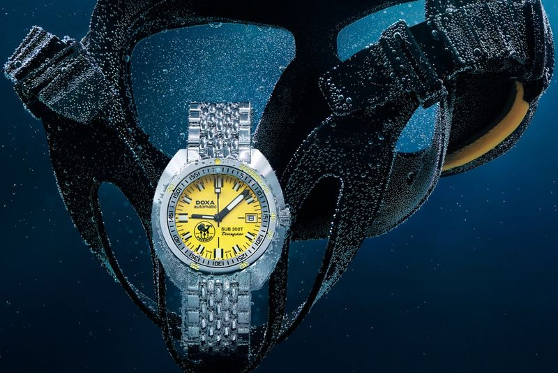 Sapphire-Accented Diving Watches