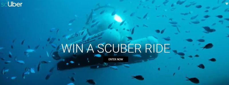 Underwater Rideshare Tours