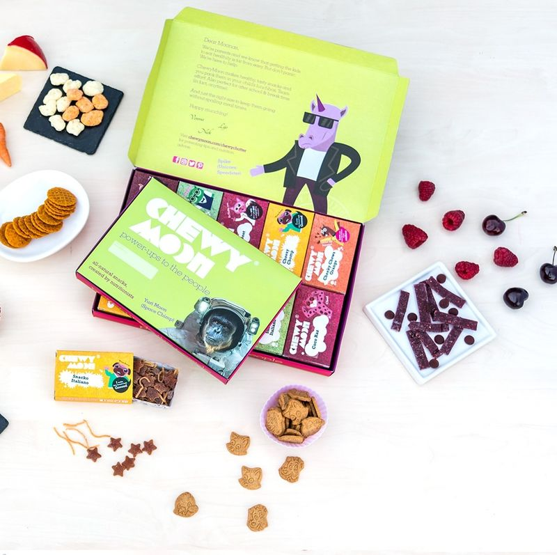 Nutritious Kid-Focused Snack Deliveries : subscription box