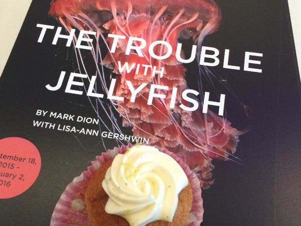 Sustainable Jellyfish Cupcakes
