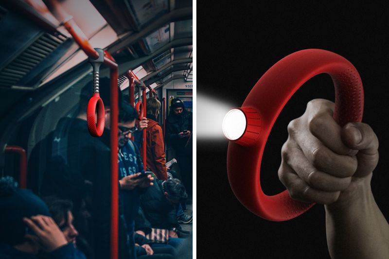 Emergency Illuminator Subway Handles