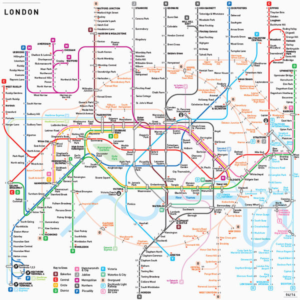 Elegantly Standardized Subway Maps