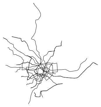 Minimalist Metro Doodles
