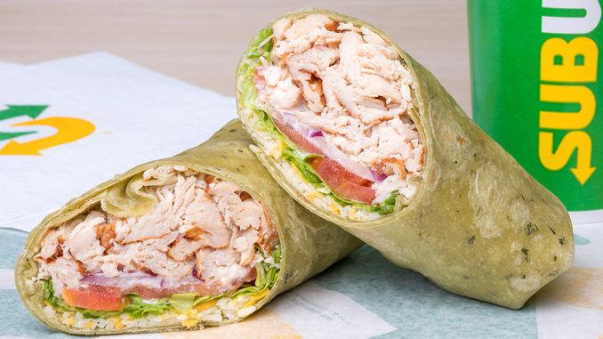 Artisan Wrap Sandwich Menus
