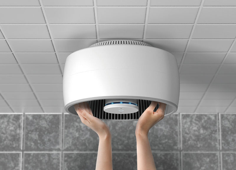 Air-Filtering Hand Dryers
