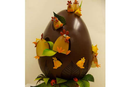 Extravagant Giant Easter Eggs