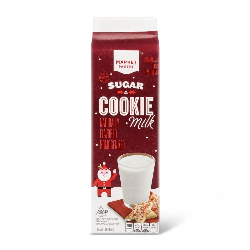 Festive Cookie-Flavored Milks