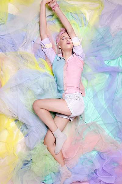 Serene Sweet Tooth Editorials : sugar high design scene ...