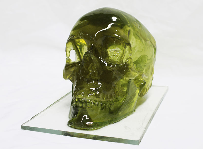 Sugary Skull Sculptures