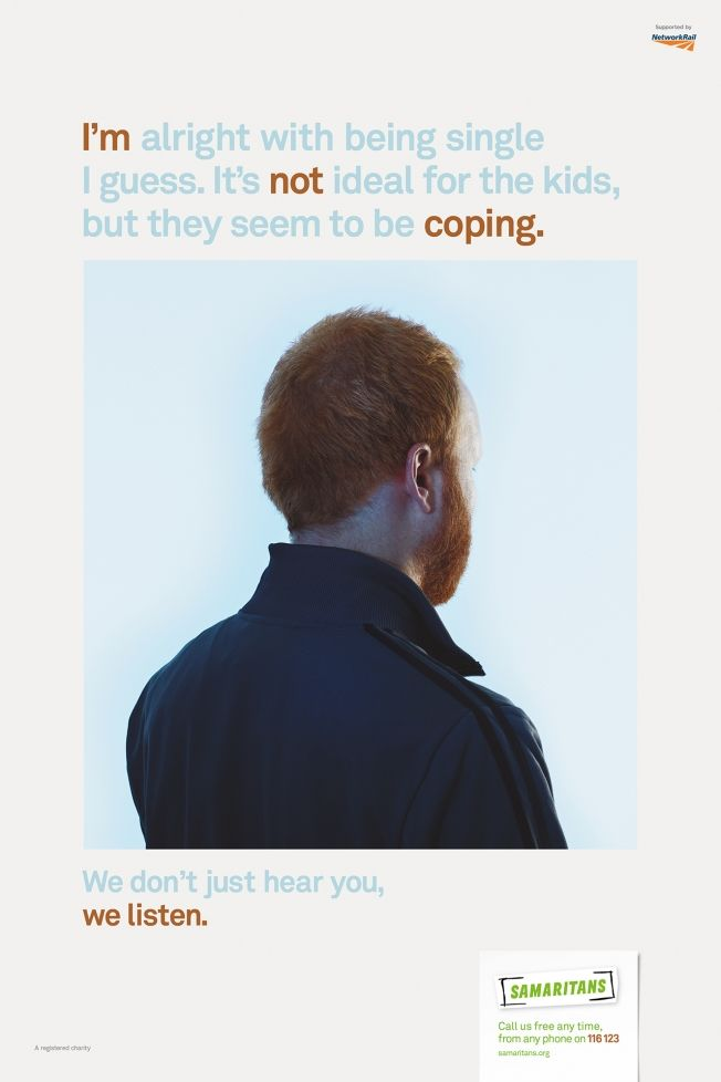 Faceless Suicide Prevention Ads