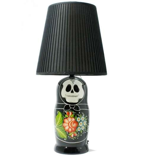 Macabre Stacking Doll Lights