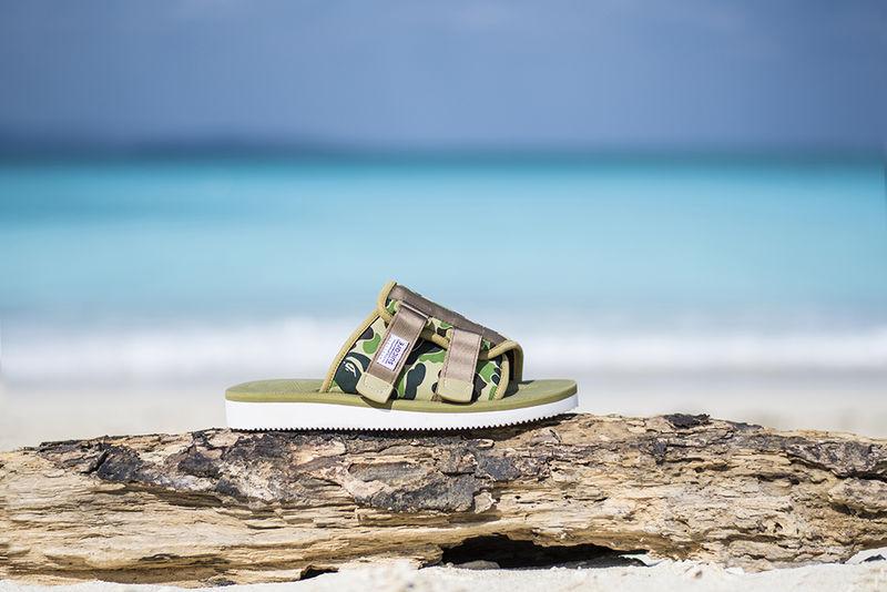 Velcro Strap Camo Sandals