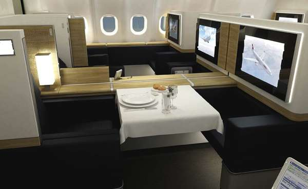 Super-Luxe Airline Suites: Swiss Air Makes Joining the ...