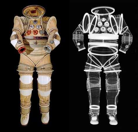 X-Rayed Spacesuit Photography