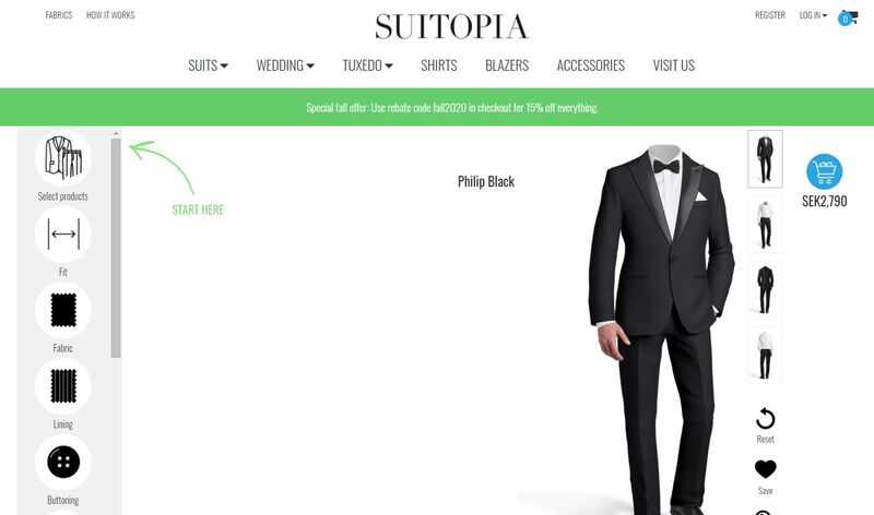 Custom Suit Design Platforms
