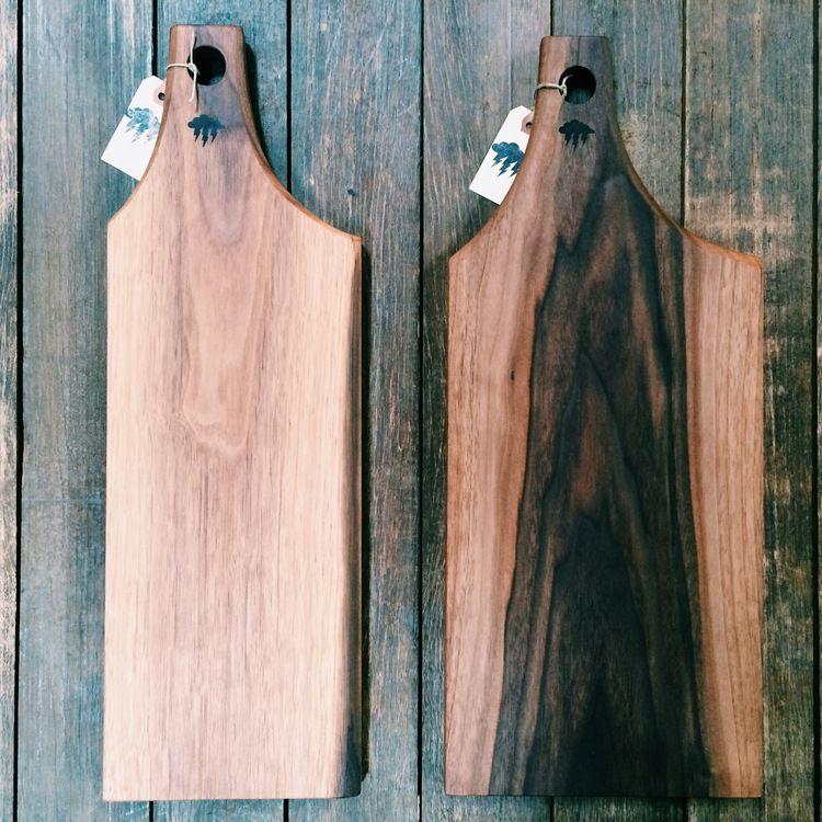 Rustic BBQ Cutting Boards