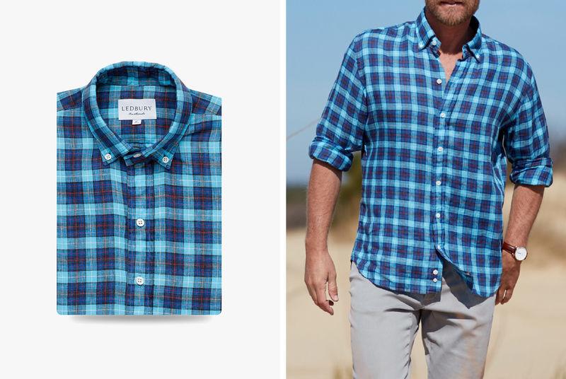 Lightweight Chambray Shirts