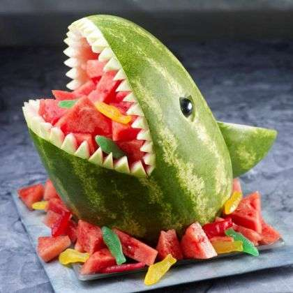 DIY Watermelon Sharks