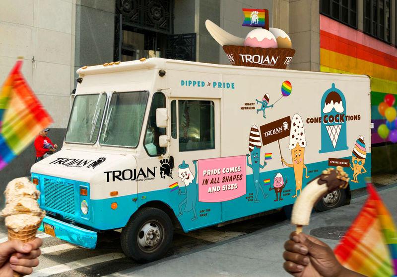 Risqué Ice Cream Trucks