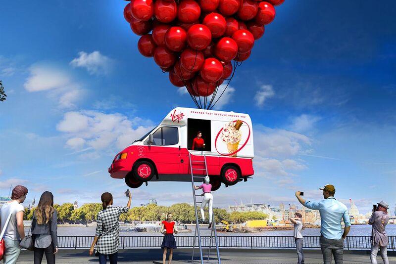 Floating Ice Cream Trucks