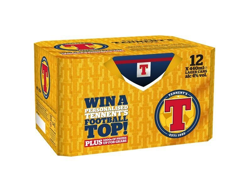 Football-Themed Beer Promotions