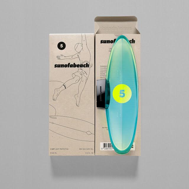 Surfing Skincare Bottles