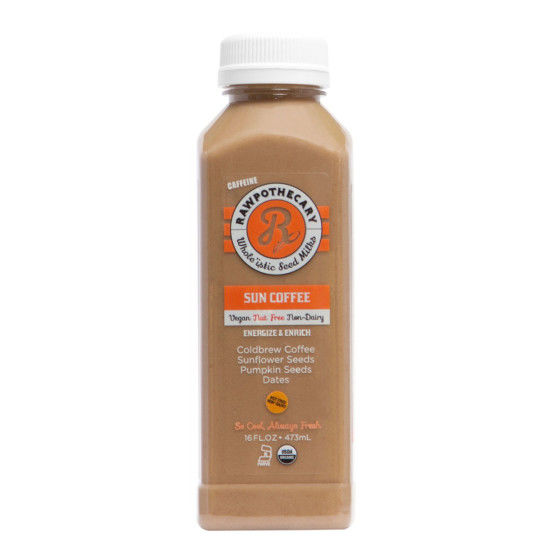 Caffeinated Seed Milks