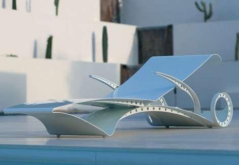 Curvy Poolside Furniture