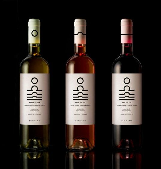 Solar Phase Wine Packaging