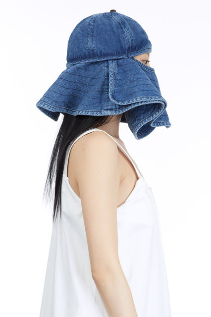 Face-Covering Bucket Hats