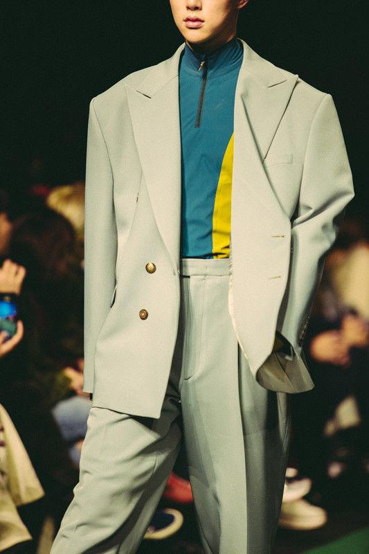 Heavily Patterned Sportswear Lines