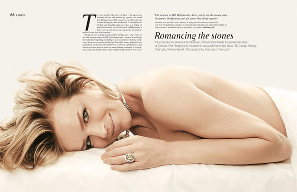 Topless Jewelry Editorials