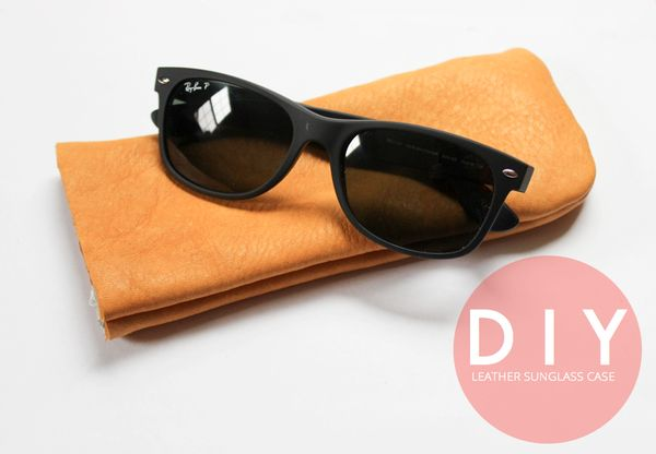 Cowhide Sunglass Carriers