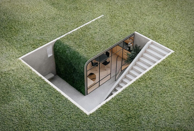 Subterranean Residential Offices