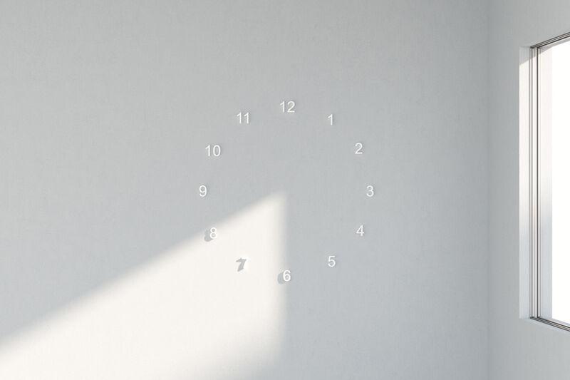 Sunlight-Harnessing Wall Clocks